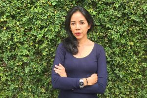 Portrait of Avianti Armand, local partner and curator of Encounters with Southeast Asian Modernism