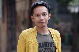 Portrait of Farid Rakun, local partner and curator of Encounters with Southeast Asian Modernism