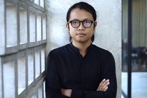 Portrait of Sereypagna Pen, local partner and curator of Encounters with Southeast Asian Modernism