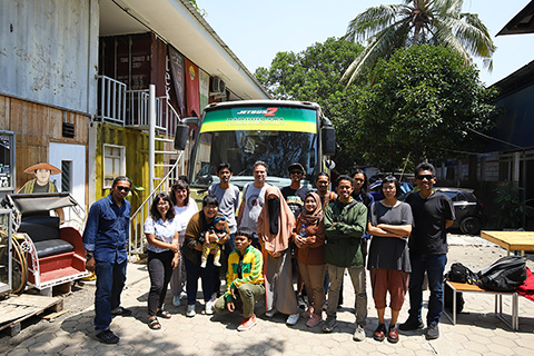 visualization of the national history: taman mini indonesia indah tour, 22 october 2019