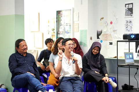 occupying modernism: discussion on product design, jakarta, 15 november 2019