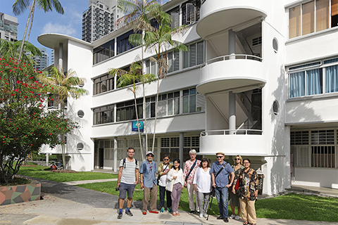 housing modernities: architecture tour, singapore, 29 november 2019