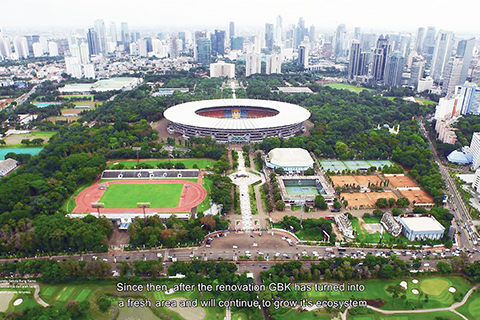 gelora bung karno – from a heritage sports complex to a modern public park