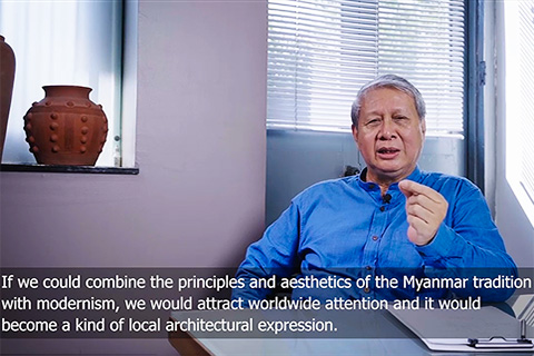 interview with the myanmar architect u sun oo